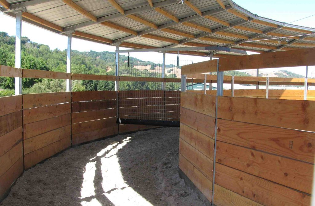 Horse Exerciser Panel Fencing