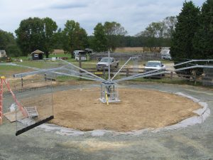 Gravel Horse Track Base