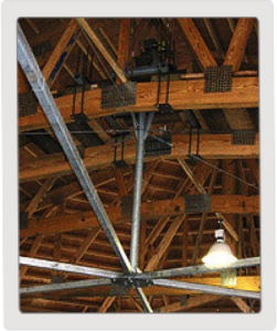 Ceiling Mount Horse Exerciser