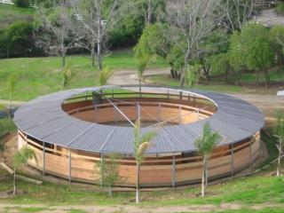 Horse Exerciser Roof