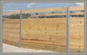 Model 3 panel fence